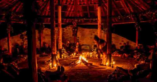 gaia sagrada ayahuasca retreats fire